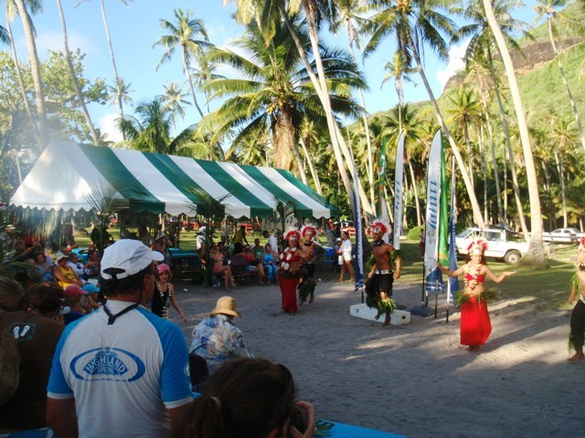 PPJ Beach party in Moorea