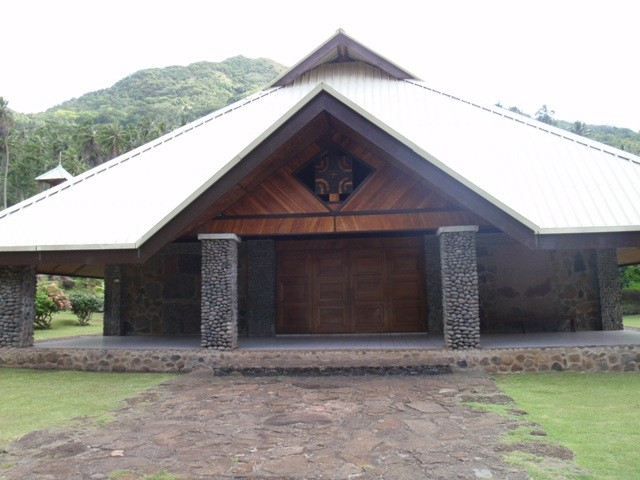 Controlleur Bay church, Nuku Hiva